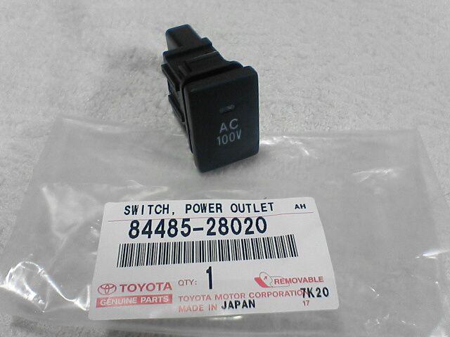 車内に100Vコンセント設置【設計とスイッチ取付】トヨタ純正 ACパワーアウトレット スイッチ