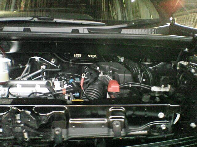 車内にAC100Vコンセント設置 【バッ直配線】 完成図
