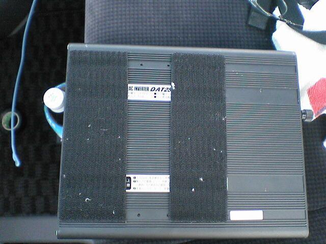 車内にAC100Vコンセント設置 【インバータ取り付け】 取付部