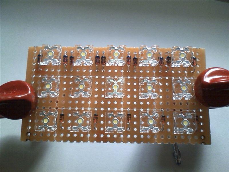 室内LED化まずは後ろから 【ルームランプLED化(ラゲッジ上)】 部品配置