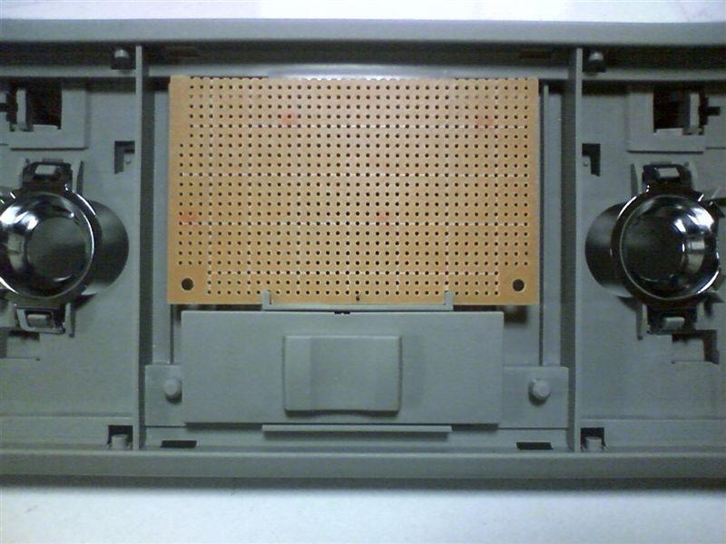 室内LED化。大型ドームランプに応用 【ルームランプLED化(ドームランプ中央)】 基盤切り出し
