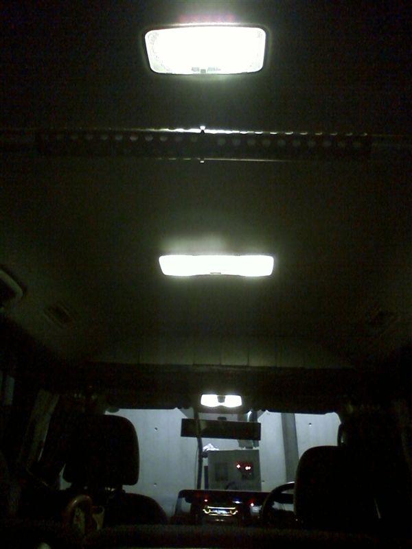 室内LED化。これでルームライトフルLED 【ルームライトLED化(フロントマップライト)】 全LED化