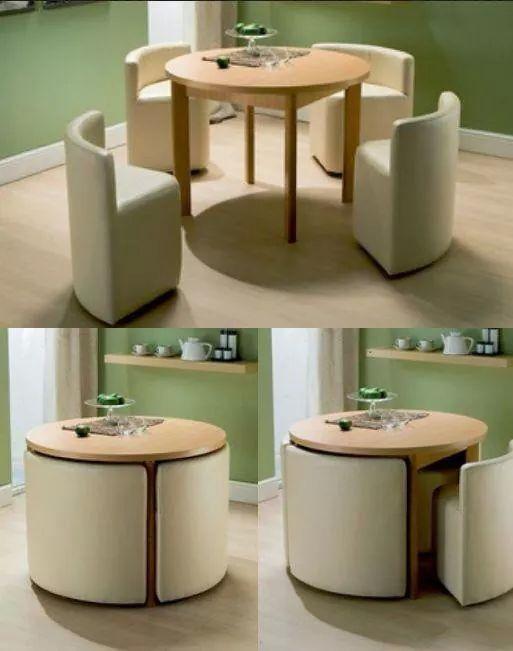 収納型テーブル