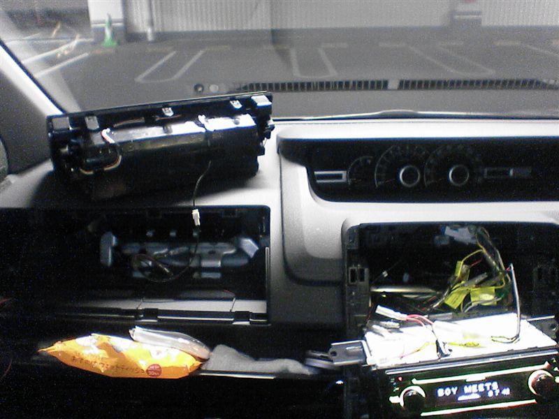 冷蔵庫的照明 【助手席アッパーボックス照明】 車体配線