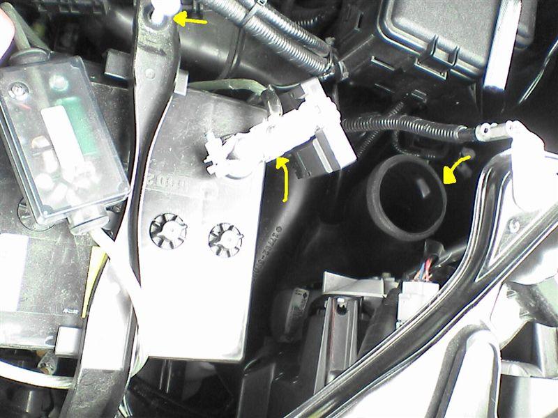 純正流用でエンジンルーム配線 【オプションコネクタ配線】 A31取り出し