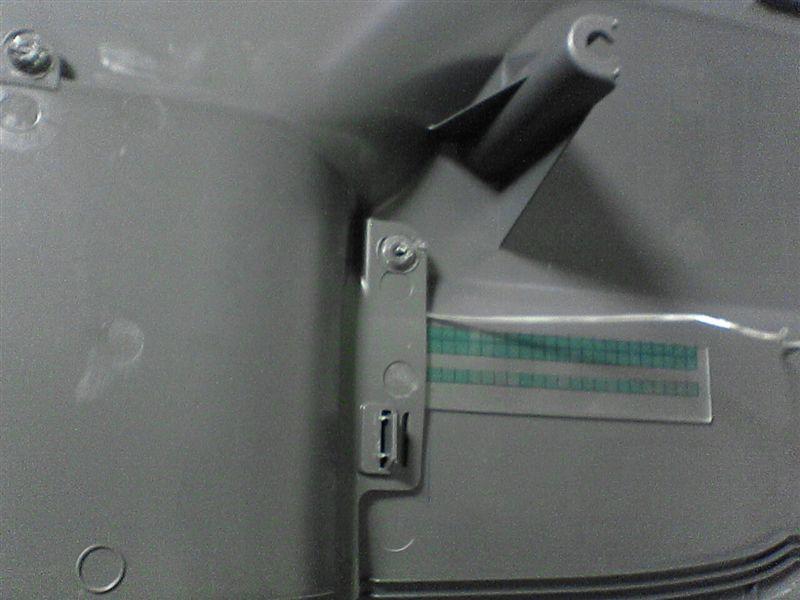 スライドドアをグレードアップ 【スライドドアポケット照明】 配線だし2