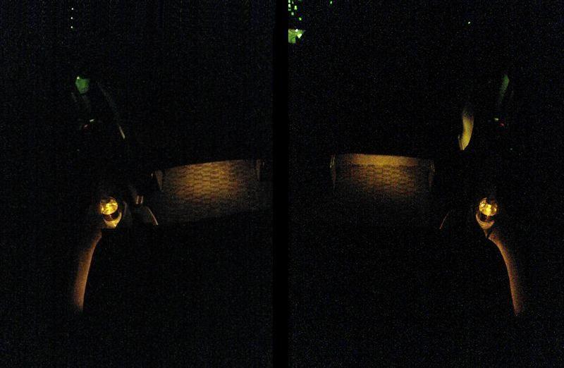 スライドドアをグレードアップ 【スライドドアポケット照明】 フル点灯