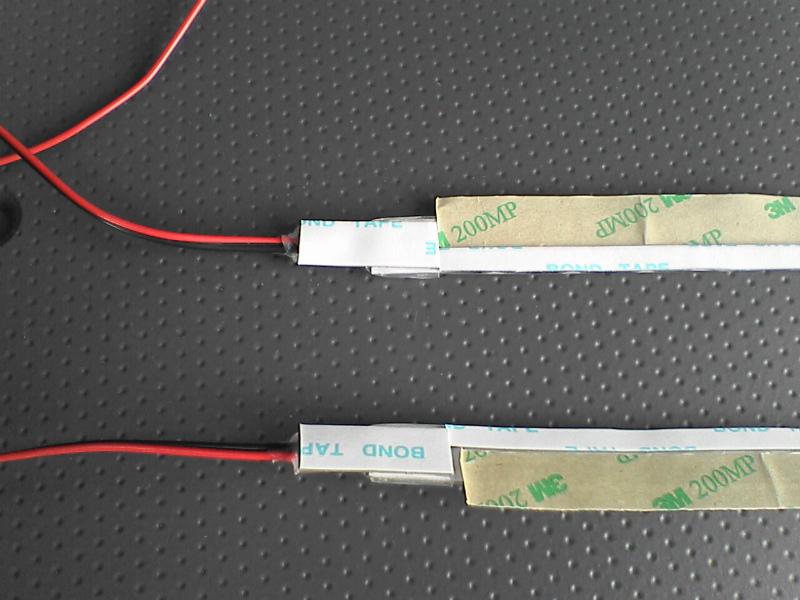 車外青光化計画 【スライドレールイルミ】 LEDテープ配線側