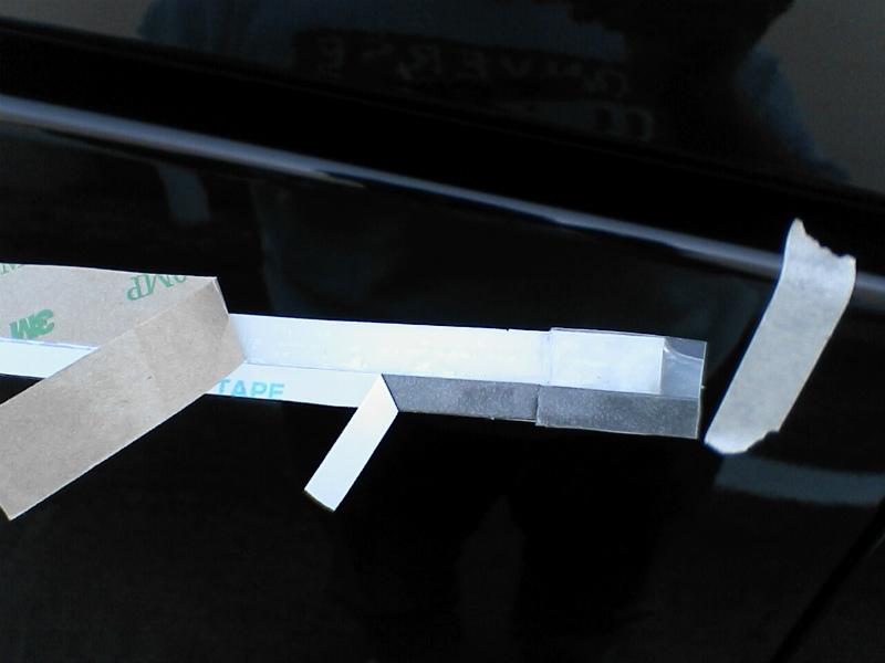 車外青光化計画 【スライドレールイルミ】 剥離紙