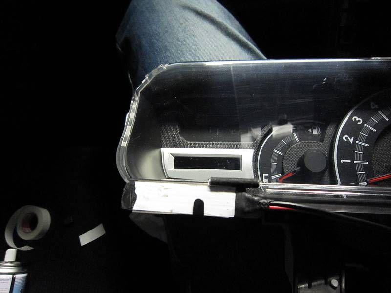 メーターにLED照射 【インジケーター取り付け】 LED取り付け