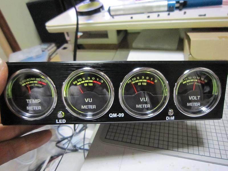 雰囲気懐古調なメーター 【マルチメーター取付】 LED交換