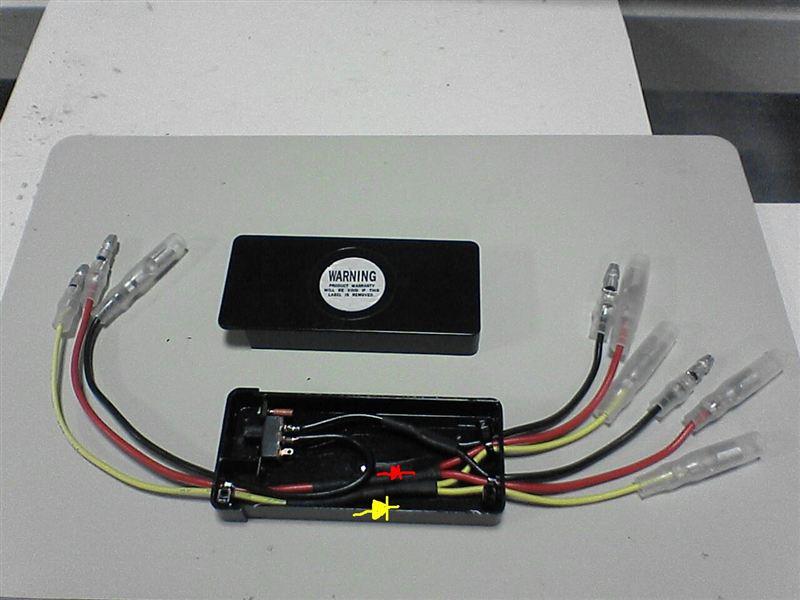 リフもエアロ化 【LEDリフレクター取り付け】 リフのコントロールユニット